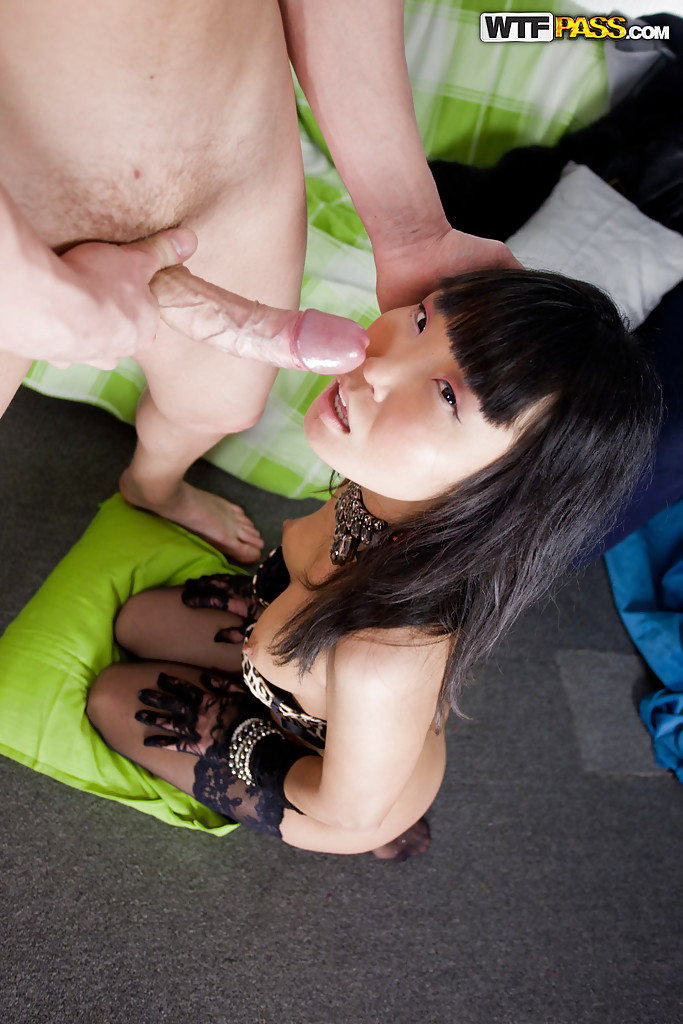 Asian Hooker White Cock