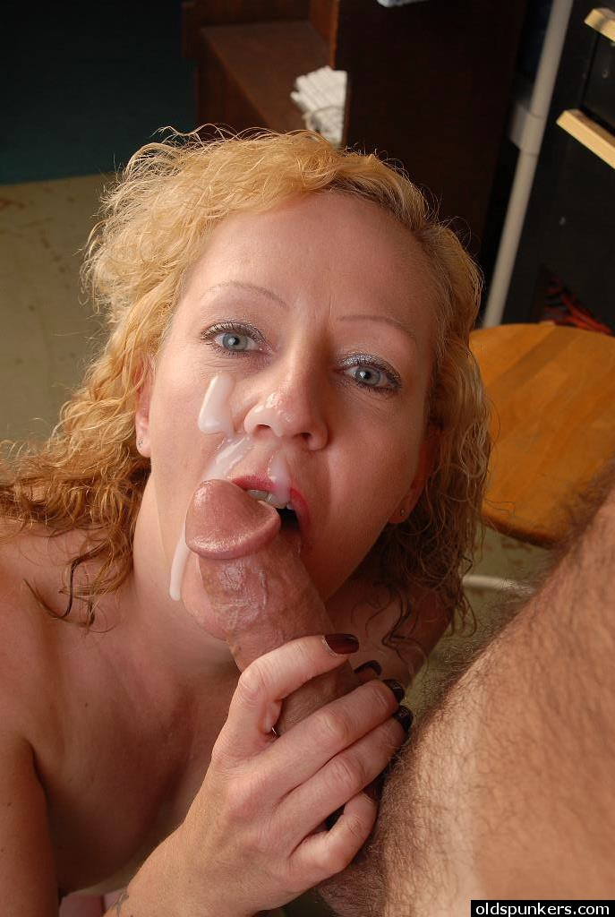 Best of Old Facial Cumshot