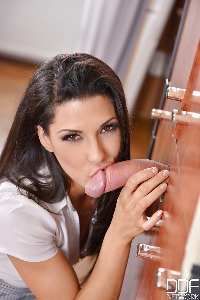 Sultry india summer giving a sensual milf blow job 9