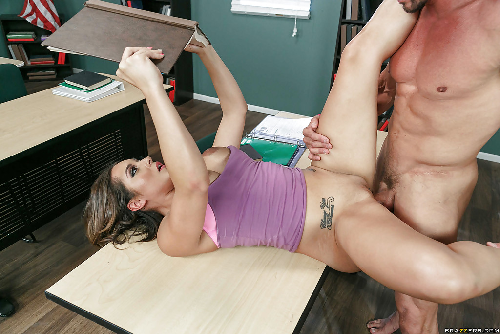 Fellow fuck in front of class anal champion