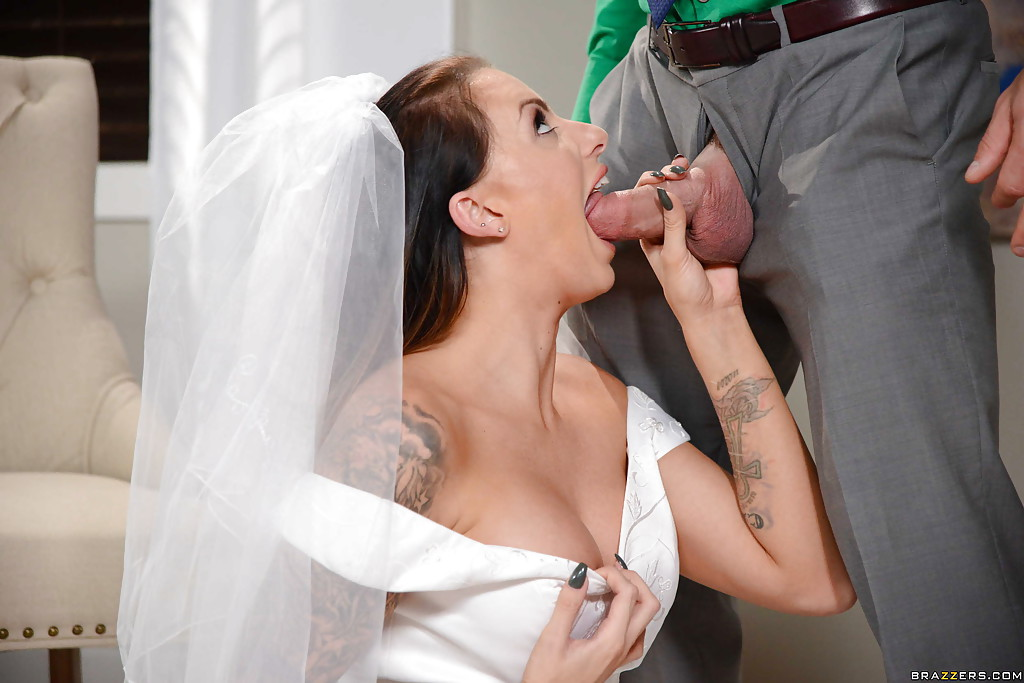 Porn photo of the bride and groom