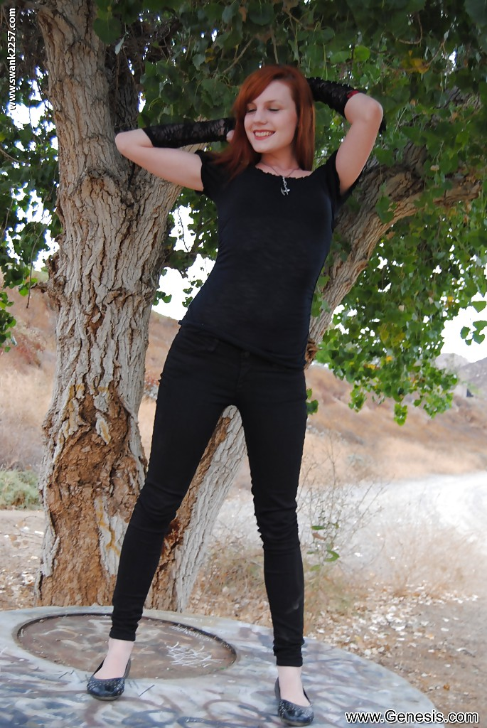 Auburn punk wife Nicci Vice showing off native jugs in orchard porn photo #324558265 | Genesis Magazine, Nicci Vice, Ass, Babe, Clothed, Outdoor, Pornstar, Redhead, mobile porn