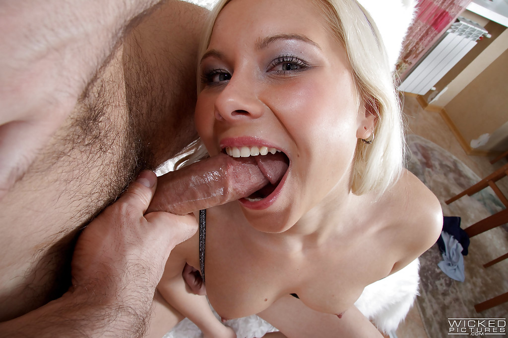 from Gibson blonde mouths dripping cum