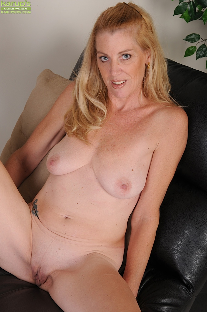 Older Blonde Nude