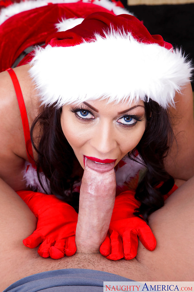 elf blowjob Christmas