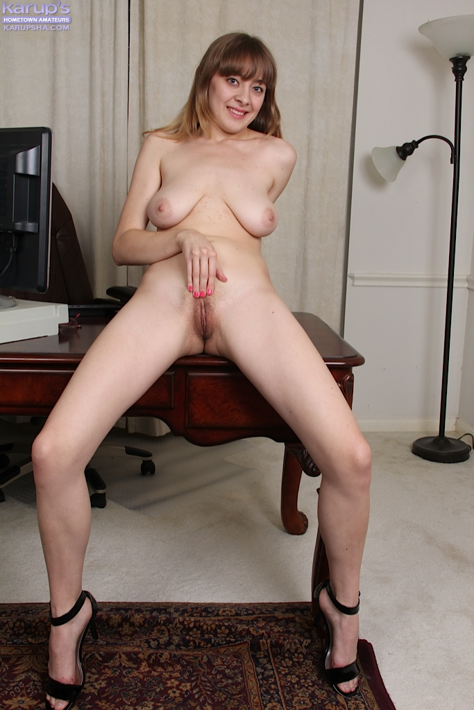 Amateur naked at work will