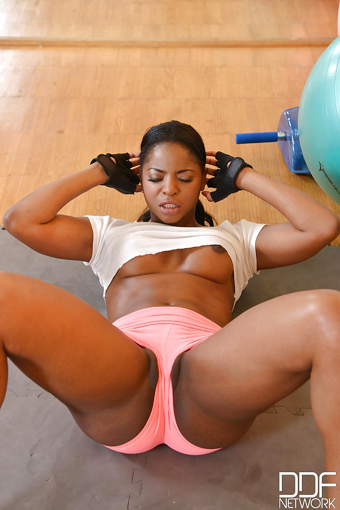Big girl workout porn