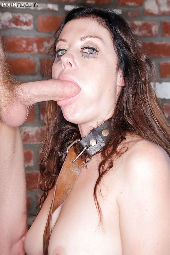 Brunette chick Sovereign Syre is used and abused with ball ...