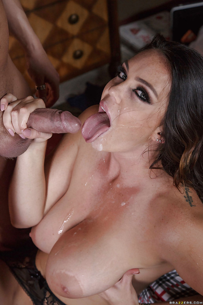 Porn stars swallowing cum