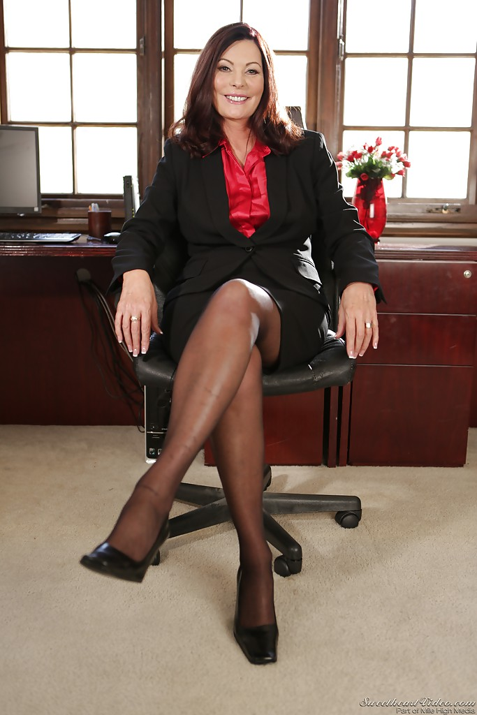 Mature office pussy