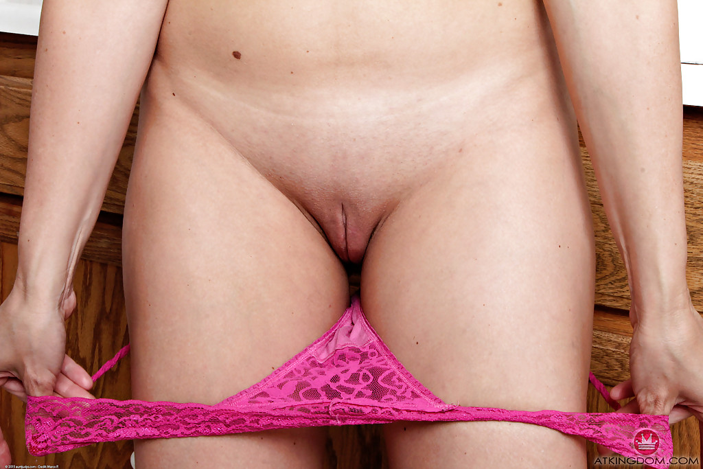 Nude women trimmed pubic hair