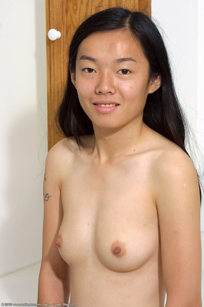 Mature asian with small tits