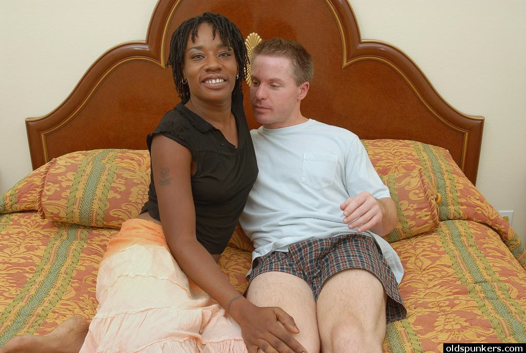 Black woman white boy sex