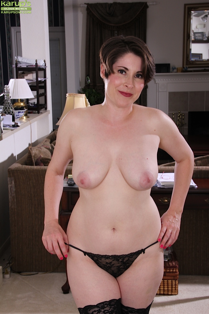 Mature with nice boobs