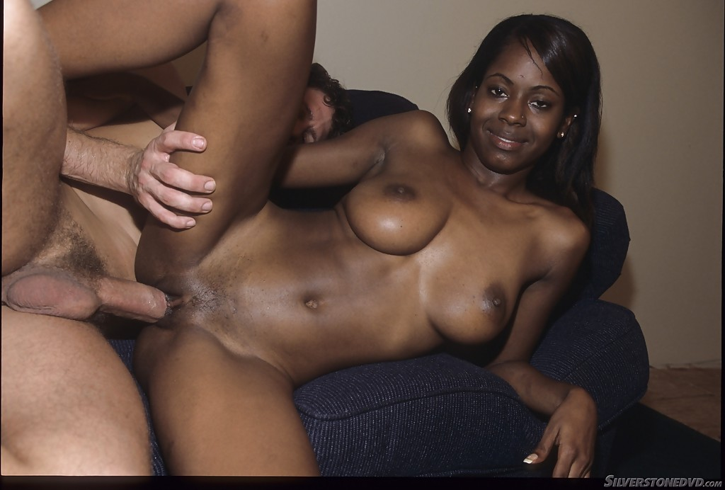 ebony pussy dripping with white sperm