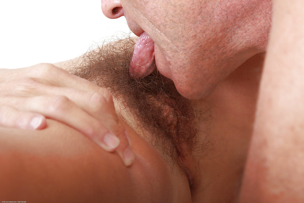 Close Up Hairy Pussy Licking