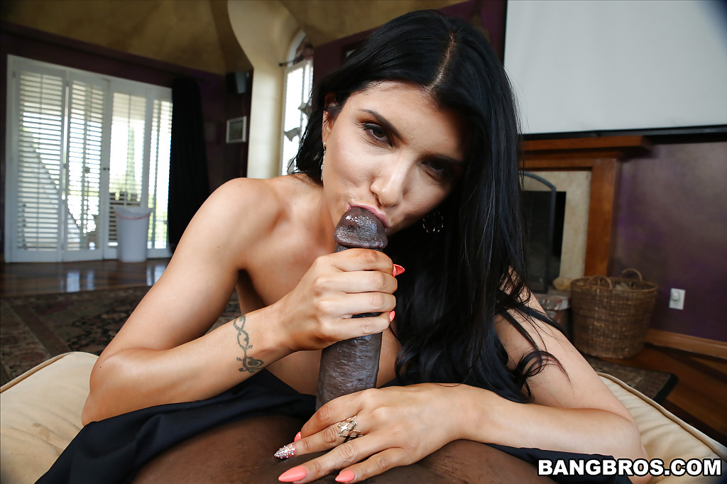 Blow job black cock