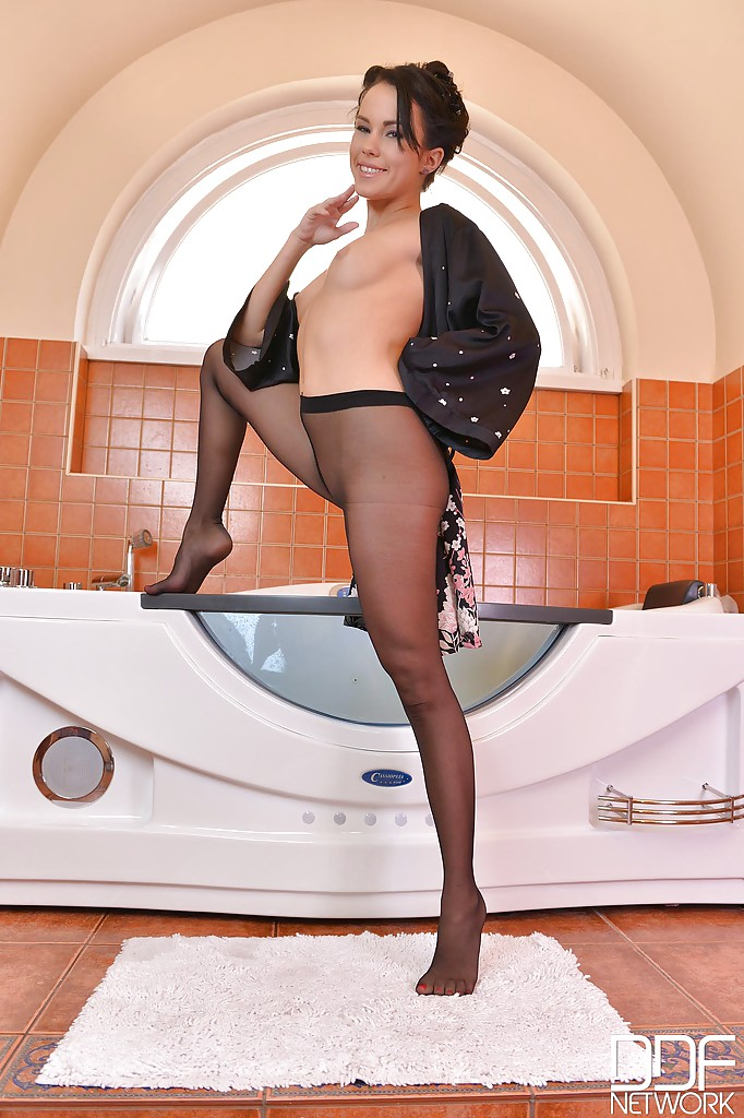 Love see Pantyhose model megan photos love