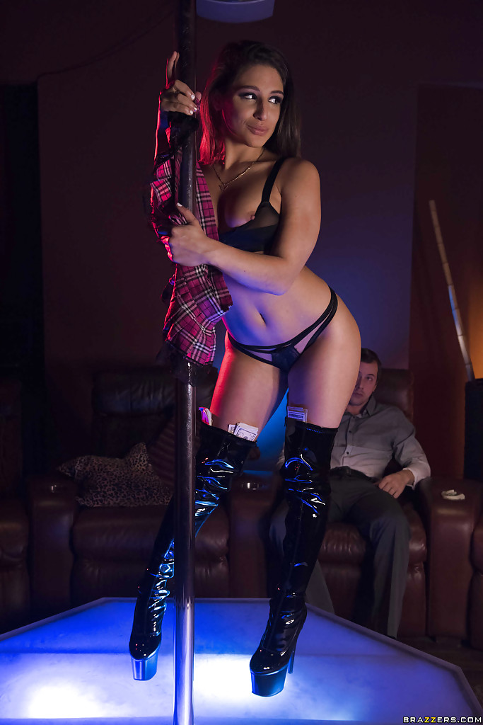 Latina strip pole
