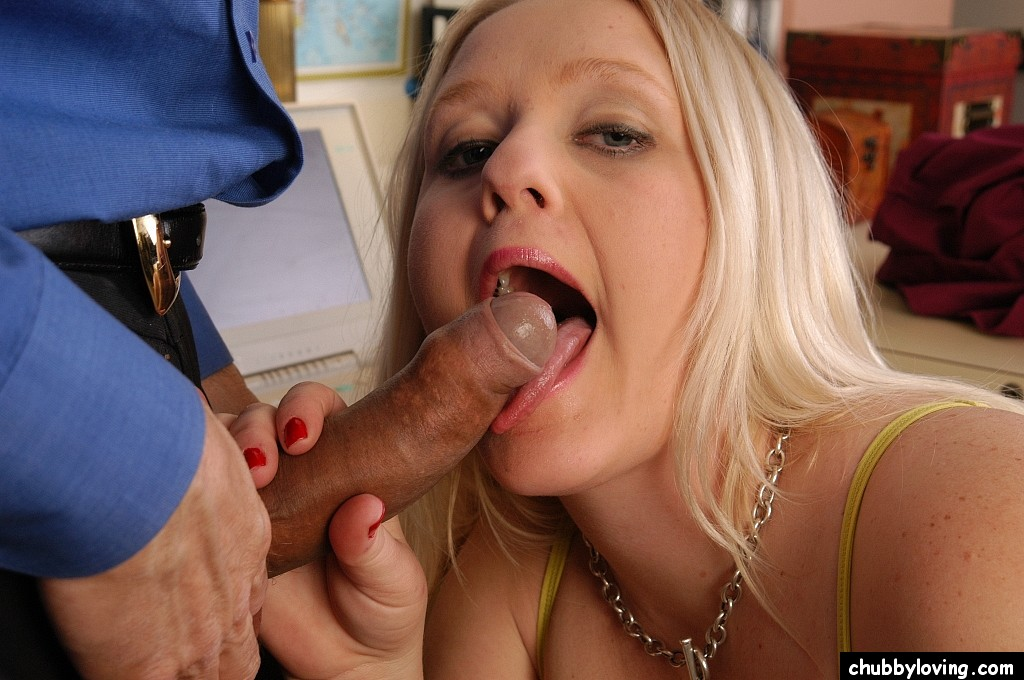 Useful piece Chubby blow job blonde magnificent idea
