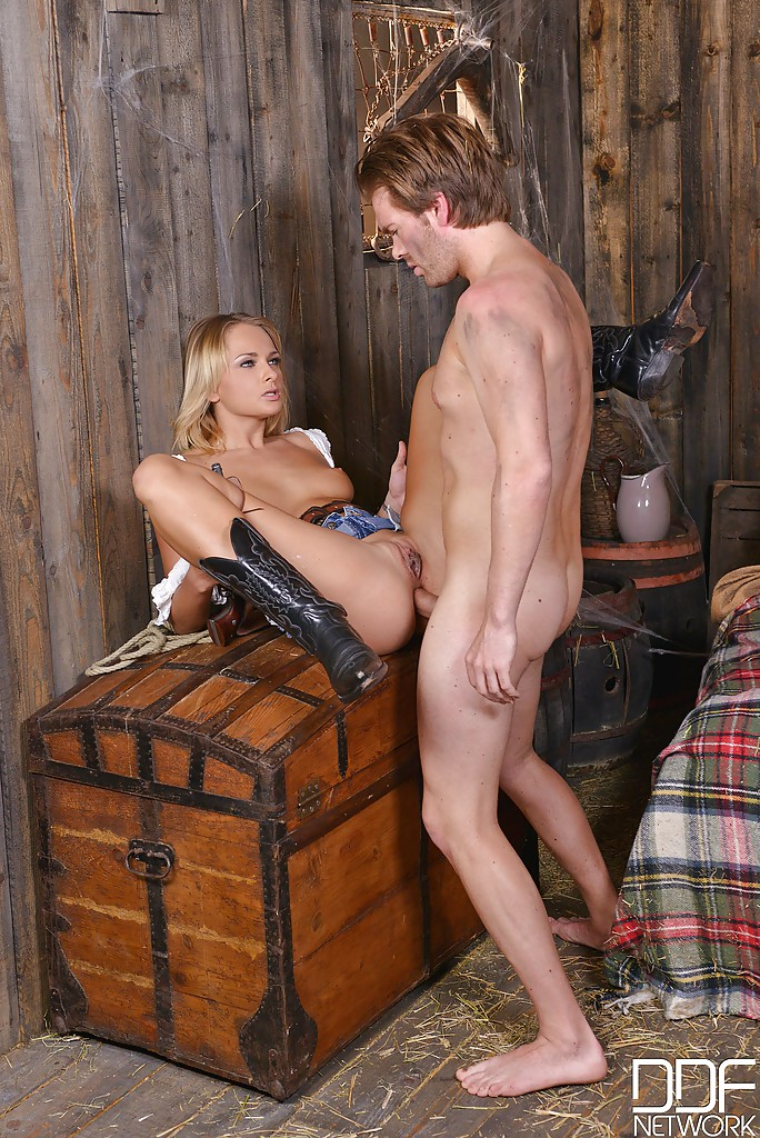 Farm girl gets fucked