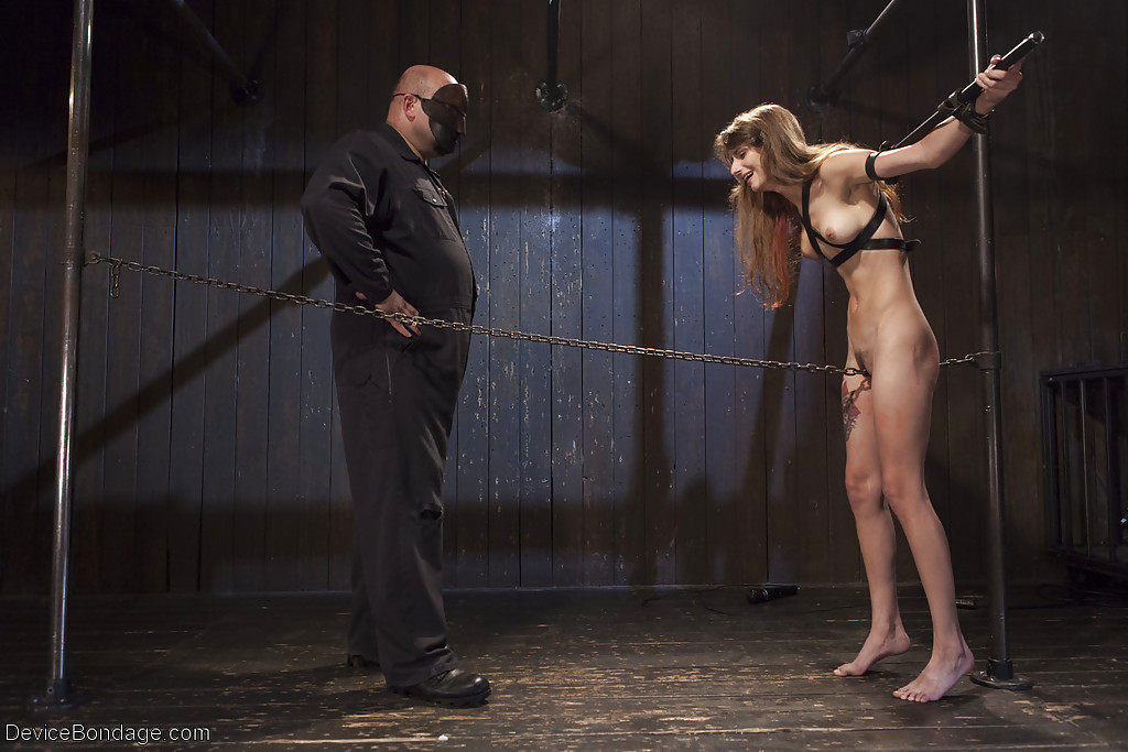 barely legal bondage porn