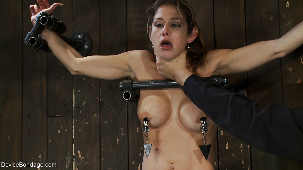 ... Busty MILF Felony undergoing intense forced orgasm and nipple torture  ...