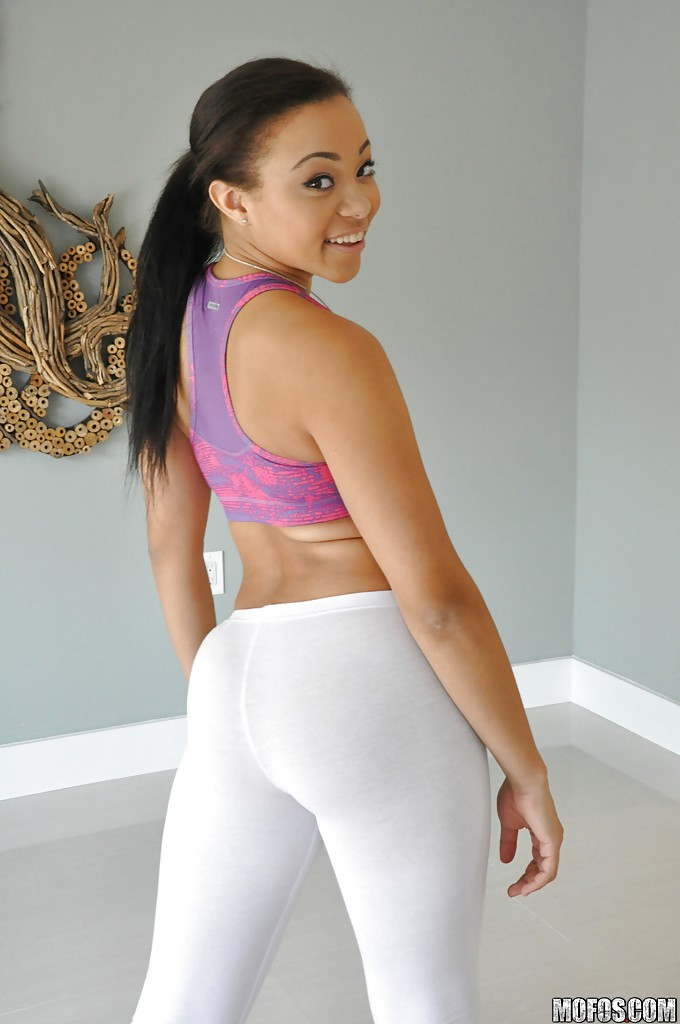 Apologise, but, Non nude yoga pants