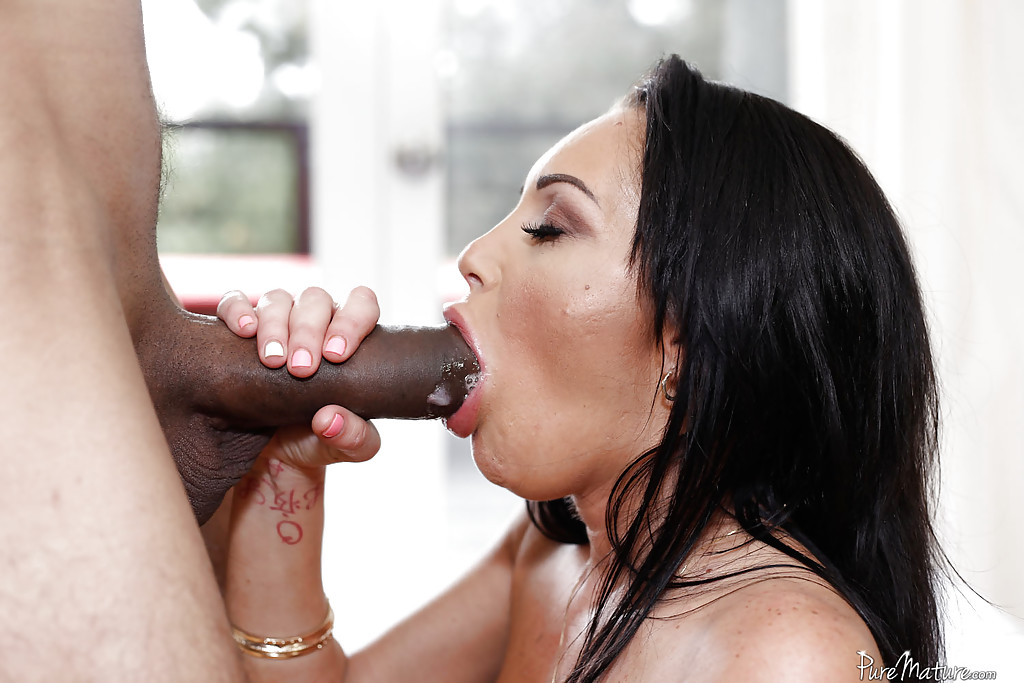 Interracial blow job video remarkable