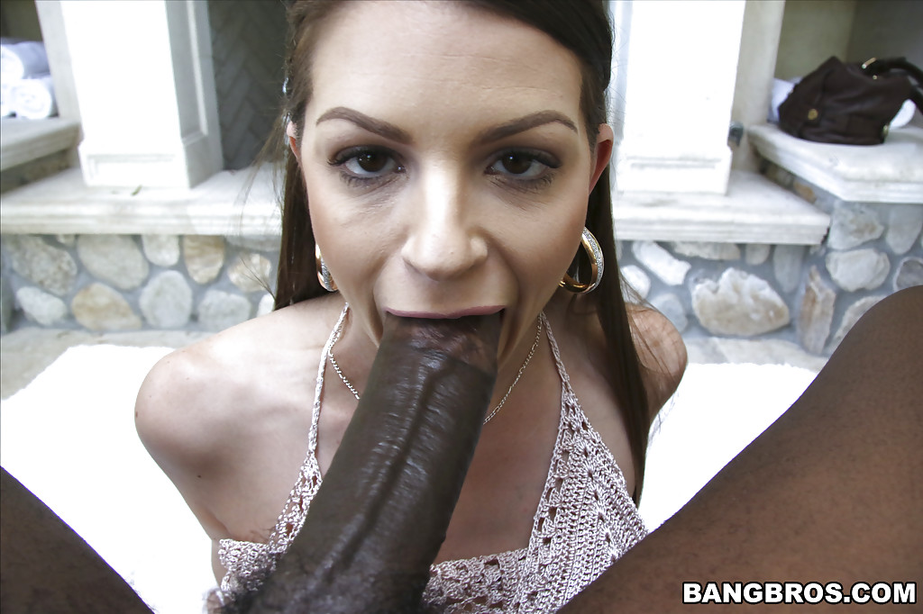 Milf Gets Creampied By Black Cock