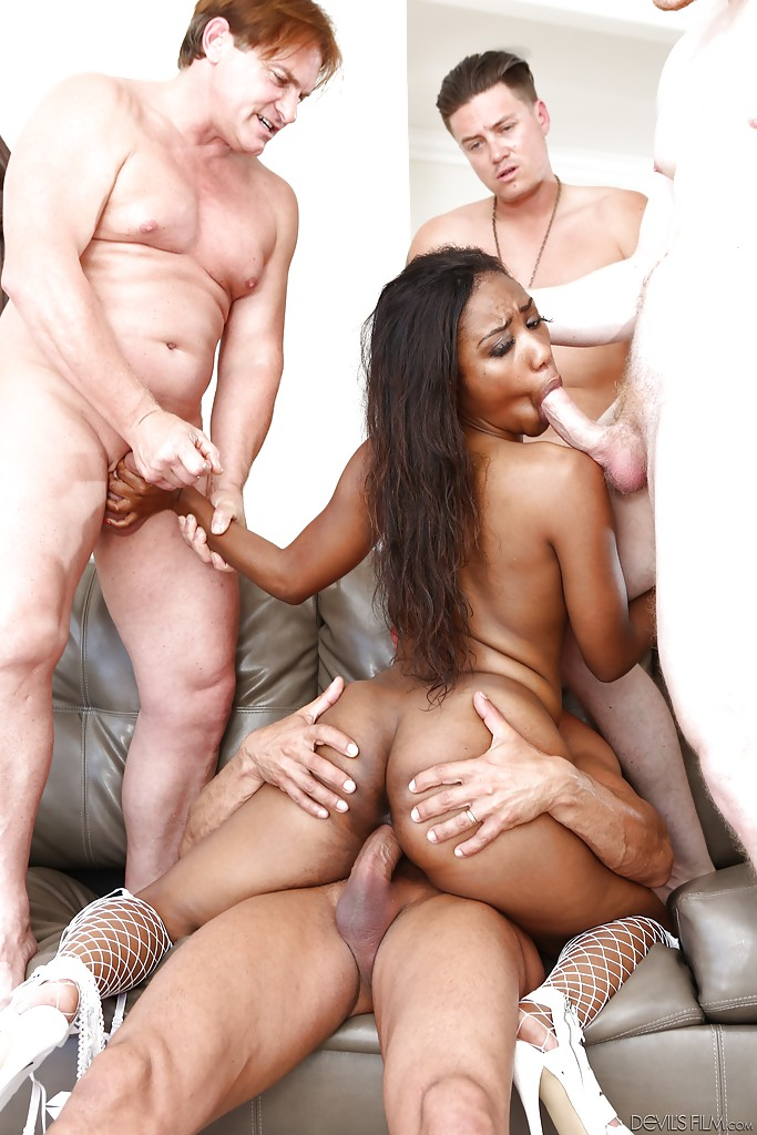 Ebony gangbang pictures