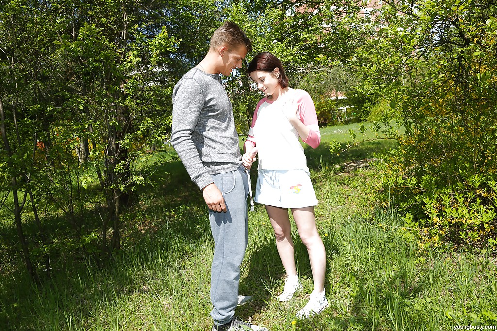 handjob outdoor