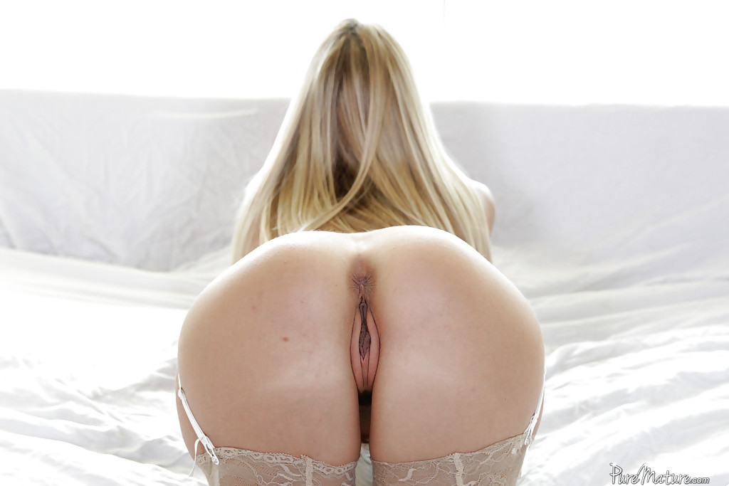Have hit Blonde perfect ass bent over pity, that