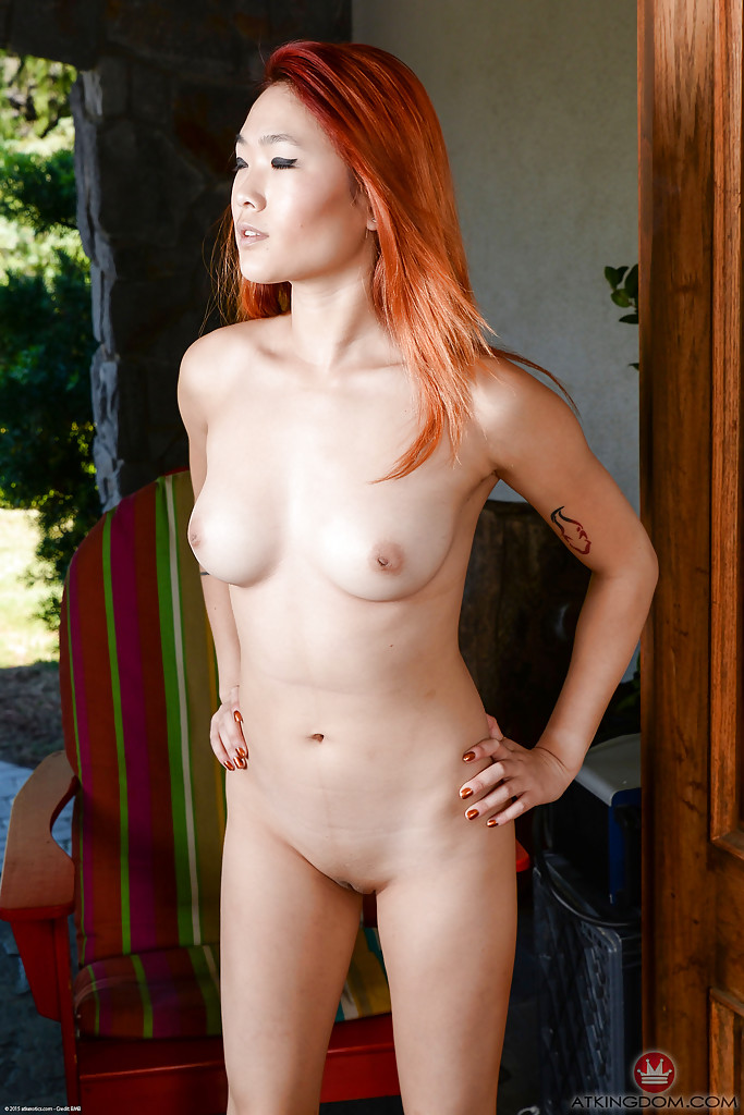 Ginger asian rubs her pussy against a cock tnaflix porn pics