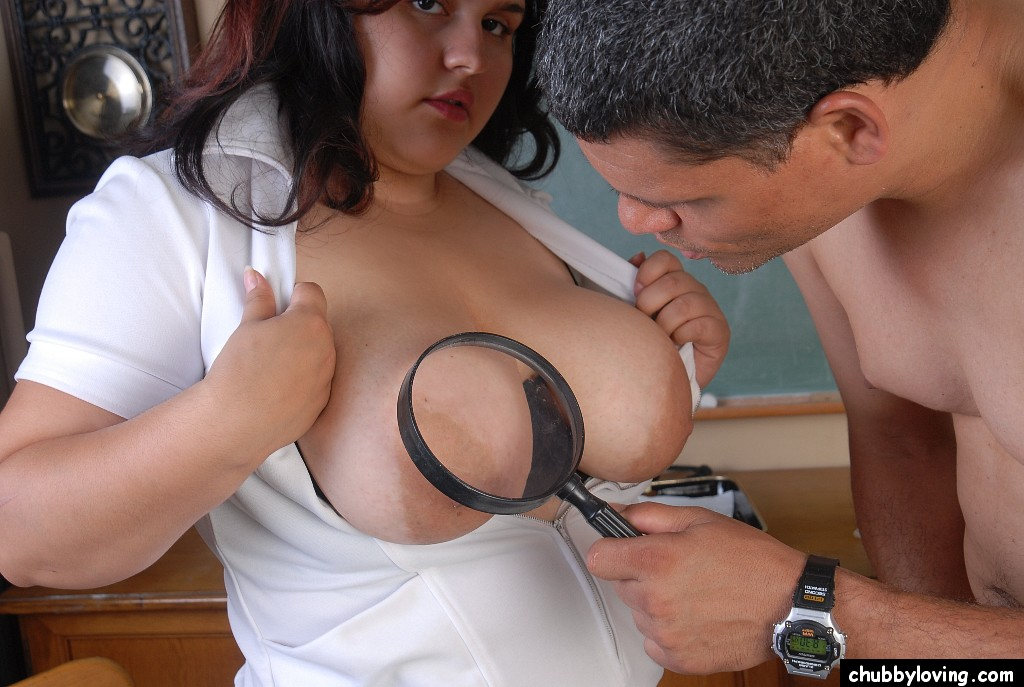 Bbw nurse takes care of cock