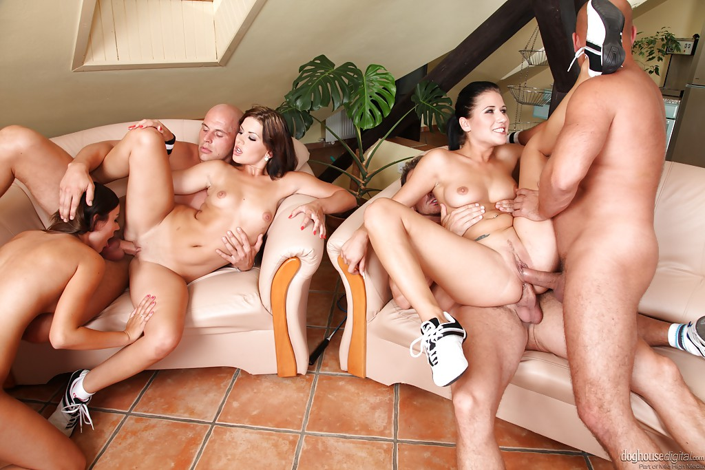 nude mature group sex