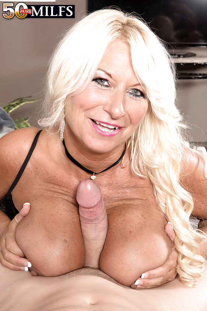 And super hot busty blonde milf