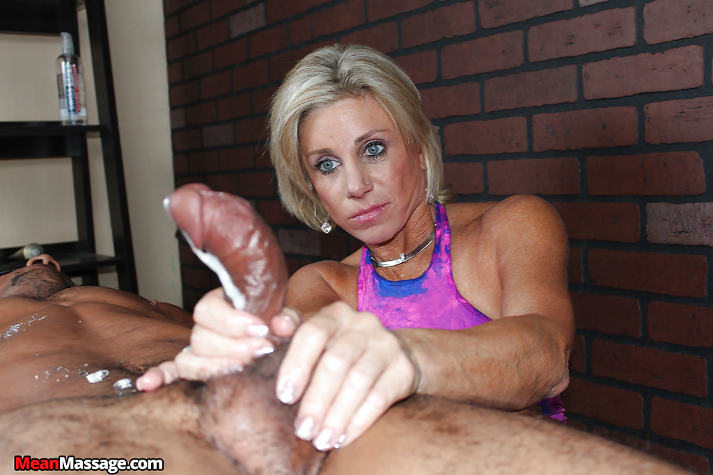 Handjob cumshots over 40