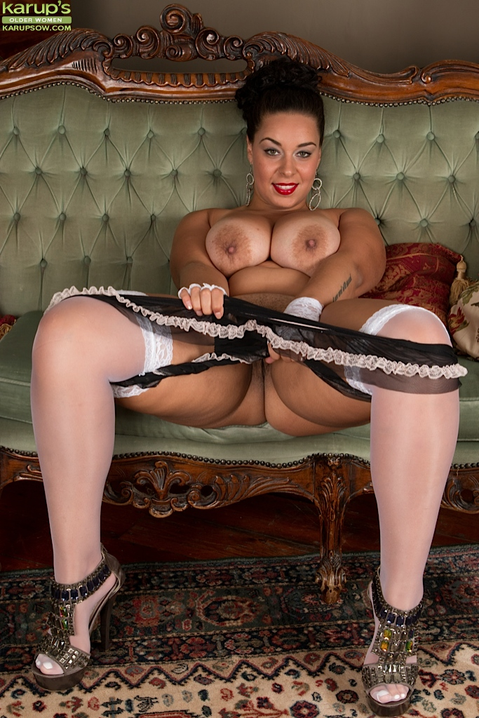 Opinion Latina high heels and stockings tempting