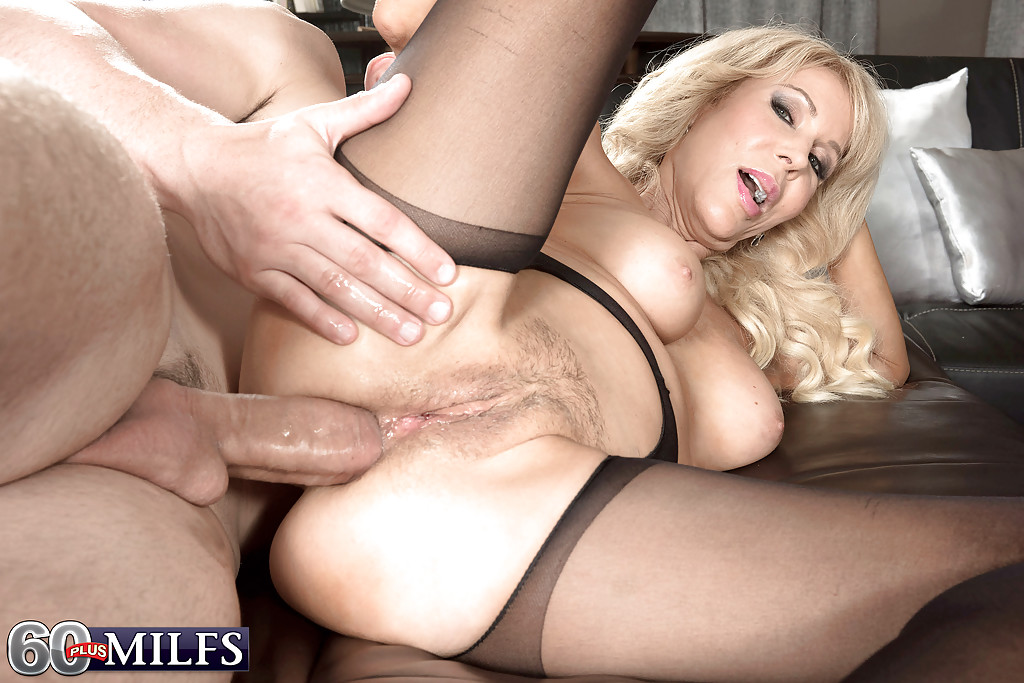 wild pantyhose sex blonde