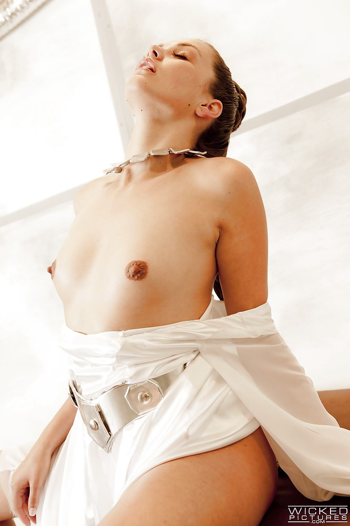 Perky girl strapped down and fucked
