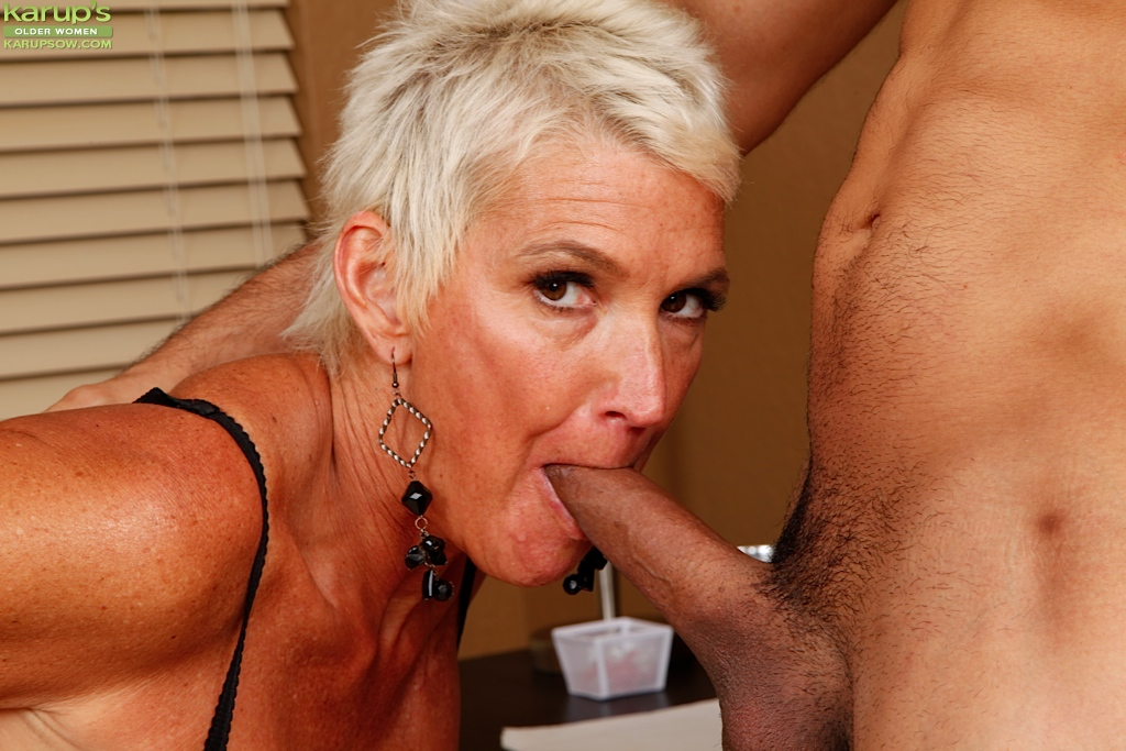 Blowjobs from older women