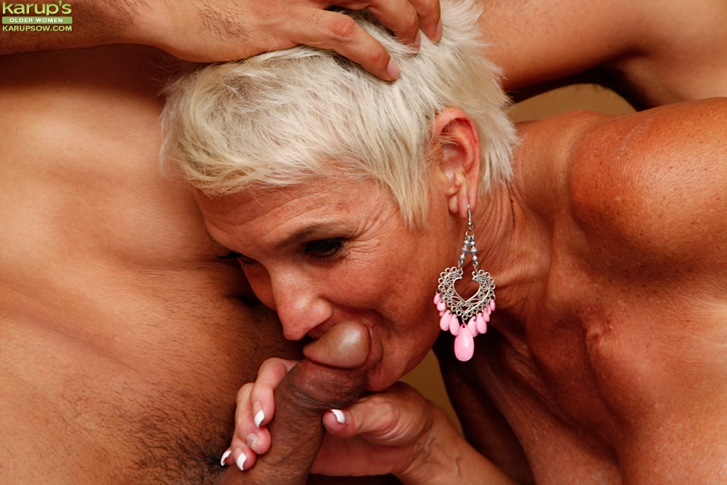 Mature women are blowing off steam 7