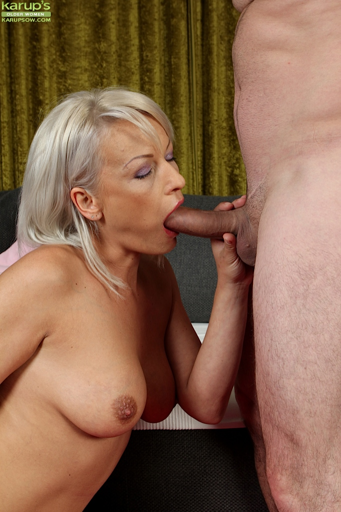 Mature women deep