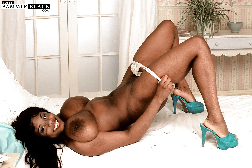 Ebony high heels porn