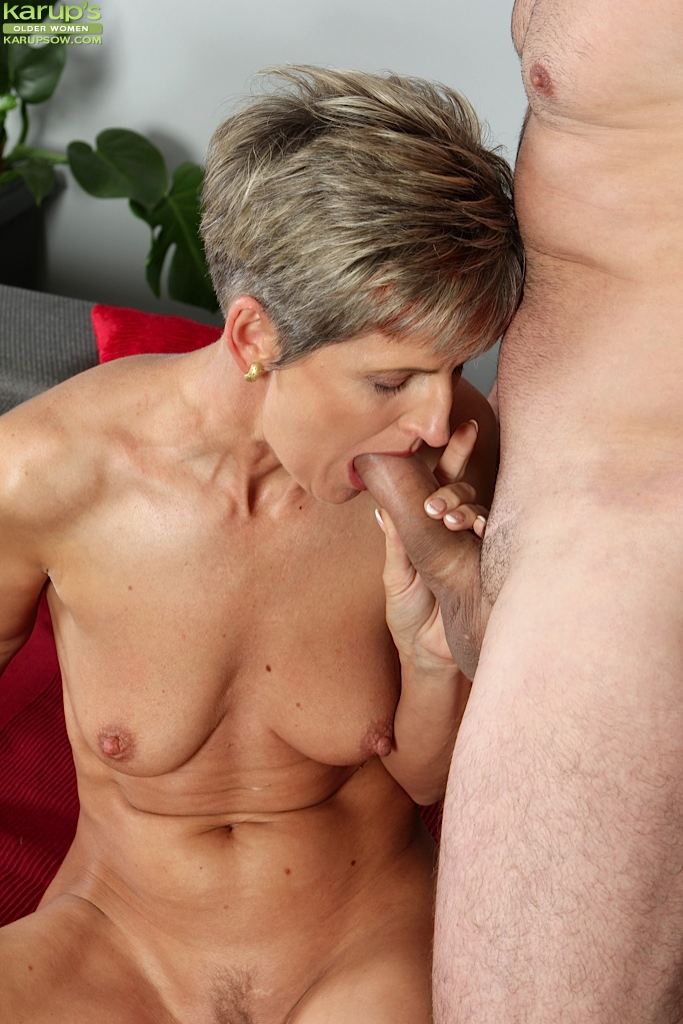 Mature female sex