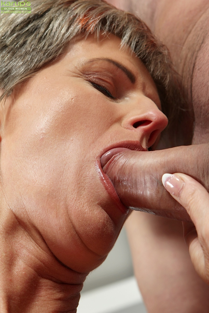 women giving oral to women