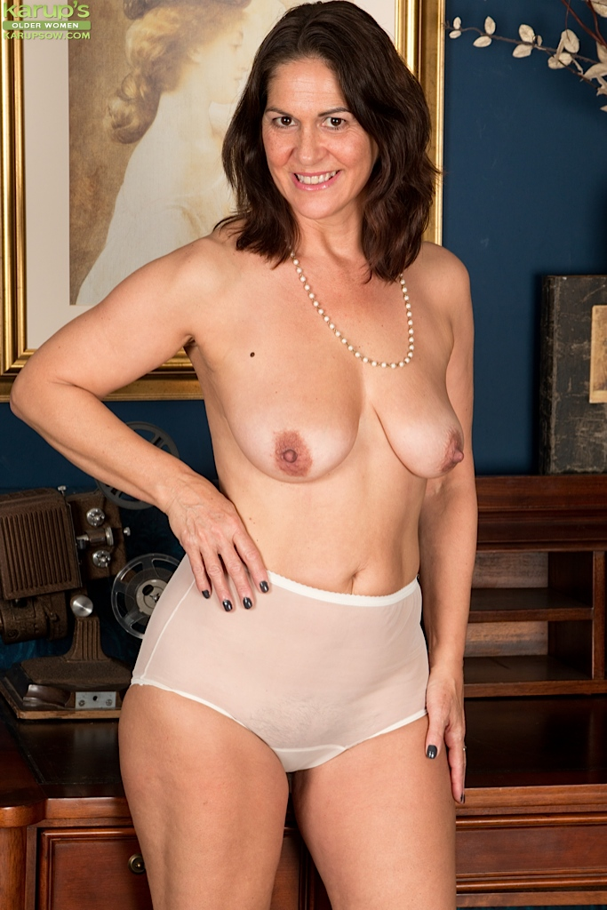 white panties strip