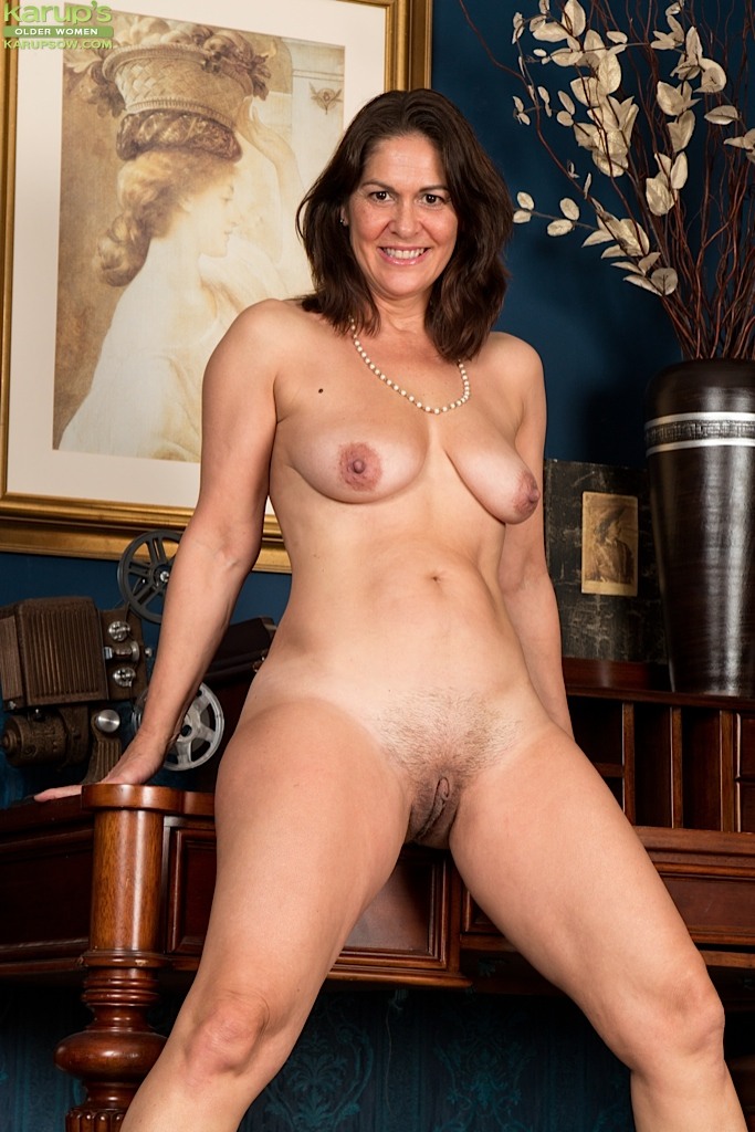 Not Amateur mature women in lingerie was and