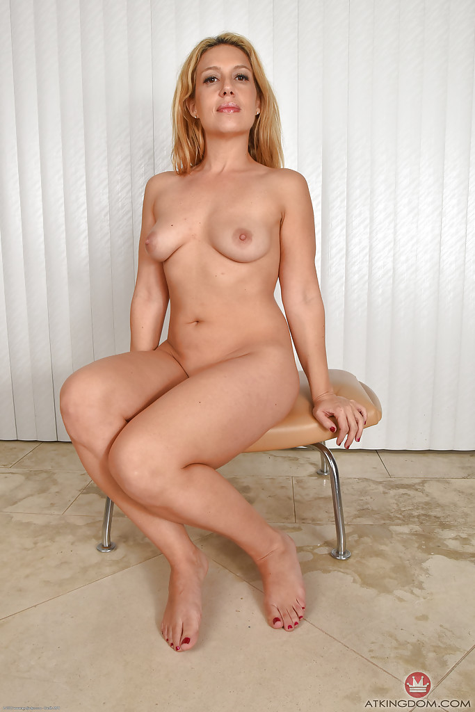 Mature Blonde Cougar Solo